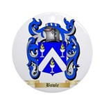 Bowle Ornament (Round)