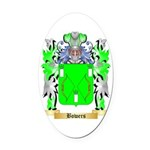 Bowers Oval Car Magnet