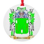 Bowerman Round Ornament