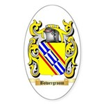 Bowergroom Sticker (Oval 50 pk)