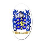 Bowen 35x21 Oval Wall Decal