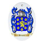 Bowen Ornament (Oval)