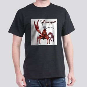 Crawfish - Where Y'at? T-Shirt