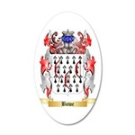 Bowe 35x21 Oval Wall Decal