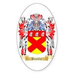 Bowdler Sticker (Oval 10 pk)