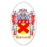 Bowdler Sticker (Oval 50 pk)
