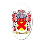 Bowdler 20x12 Oval Wall Decal