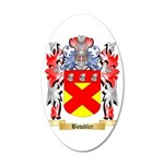 Bowdler 35x21 Oval Wall Decal