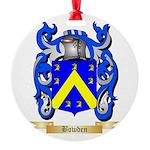 Bowden Round Ornament