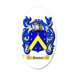 Bowden Oval Car Magnet