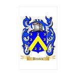 Bowden Sticker (Rectangle 50 pk)