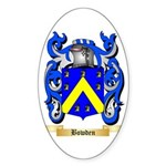 Bowden Sticker (Oval 50 pk)