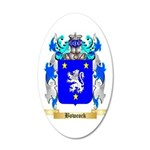 Bowcock 35x21 Oval Wall Decal