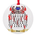 Bow Round Ornament