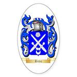 Bovo Sticker (Oval 50 pk)