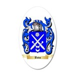 Bovo 20x12 Oval Wall Decal