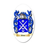 Bovo 35x21 Oval Wall Decal