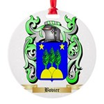 Bovier Round Ornament