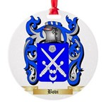 Bovi Round Ornament