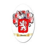 Bovetto 35x21 Oval Wall Decal