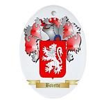 Bovetto Ornament (Oval)