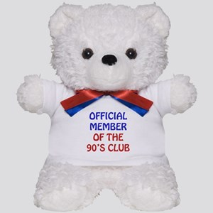 90th Birthday Official Member Teddy Bear
