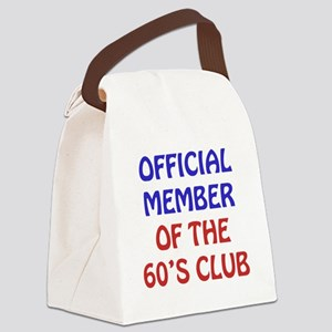 60th Birthday Official Member Canvas Lunch Bag