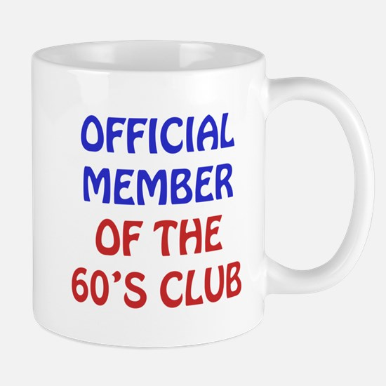 60th Birthday Official Member Mug
