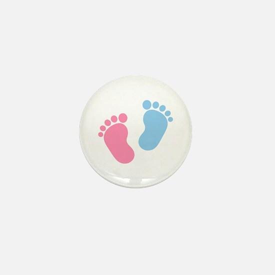 Baby feet Mini Button