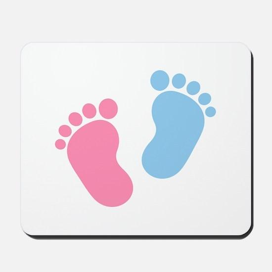 Baby feet Mousepad