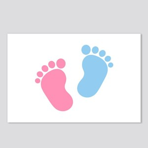 Baby feet Postcards (Package of 8)