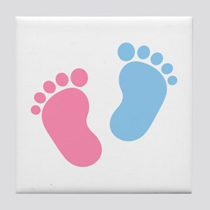 Baby feet Tile Coaster