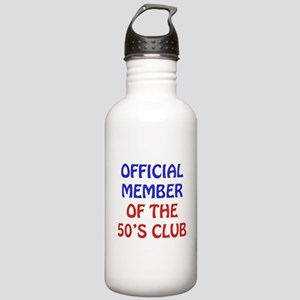 50th Birthday Official Member Stainless Water Bott