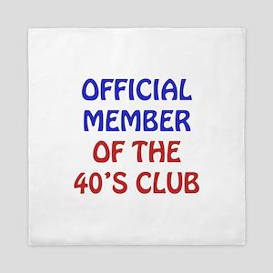 40th Birthday Official Member Queen Duvet