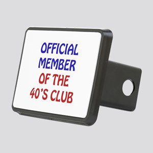 40th Birthday Official Member Rectangular Hitch Co