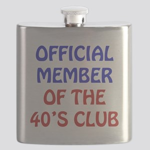 40th Birthday Official Member Flask