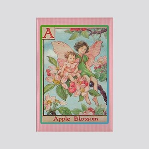 Apple Blosson Fairy Rectangle Magnet