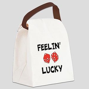 FEELIN LUCKY Canvas Lunch Bag