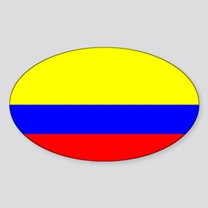 Colombia Flag Rectangle Sticker