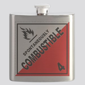 Spontaneously Combustible Flask