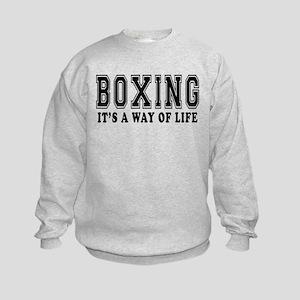 Bowling It's A Way Of Life Kids Sweatshirt