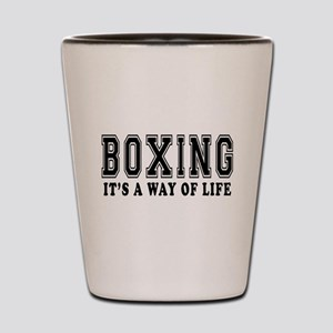 Bowling It's A Way Of Life Shot Glass