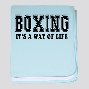 Bowling It's A Way Of Life baby blanket