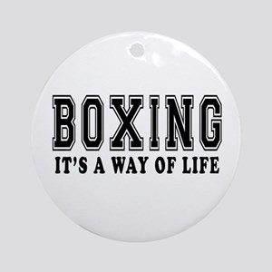 Bowling It's A Way Of Life Ornament (Round)