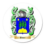 Bover Round Car Magnet