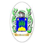 Bover Sticker (Oval 50 pk)