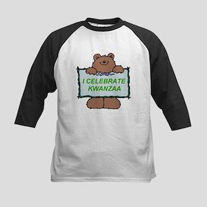 I Celebrate Kwanzaa Bear Baseball Jersey