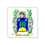 Bouvron Square Sticker 3
