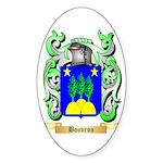 Bouvron Sticker (Oval 50 pk)