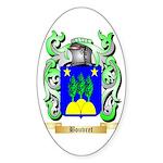 Bouvret Sticker (Oval 10 pk)